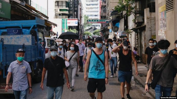 Honkonqda 300-dən çox etirazçı həbs edilib