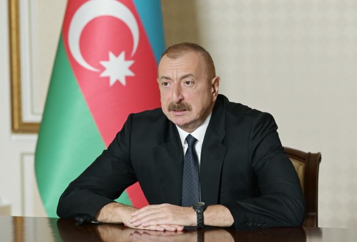 """""""Alle Angriffe werden von Armenien begangen"""" -   Präsident Ilham Aliyev"""