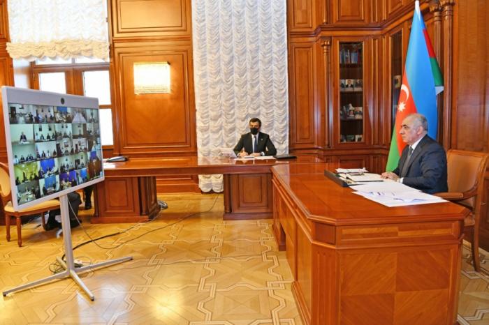 En la Sede Operativa ante el Gabinete de Ministros discutió la situación en las regiones que no tienen un régimen de cuarentena más estricto