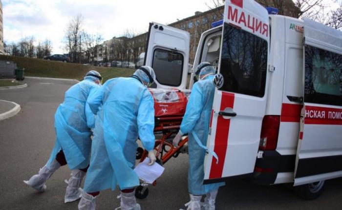 Belarusda koronavirusa yoluxma sayı 63 mini ötdü
