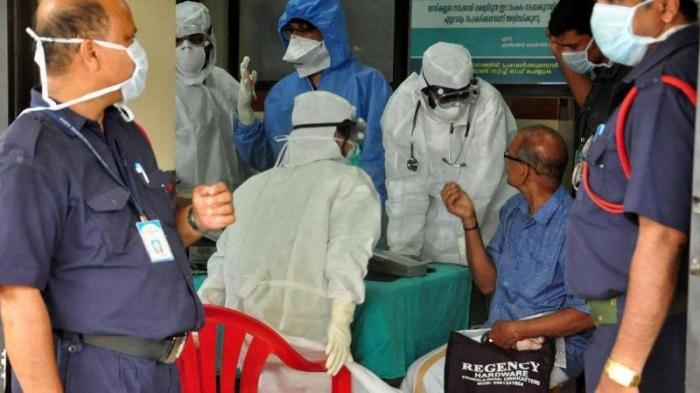 Hindistanda yoluxma sayı 18,6 min nəfər artdı