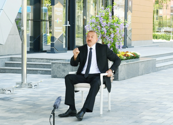 """Wenn Armenien den Mut hat, soll es "" Berg-Karabach-Republik ""anerkennen."""