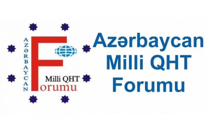Milli QHT Forumu bəyanat yayıb