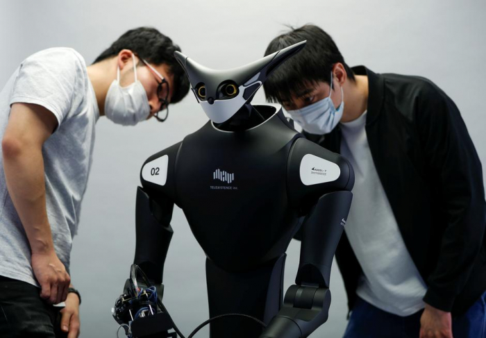 Japanese robot to be used at a convenience store in test of retail automation