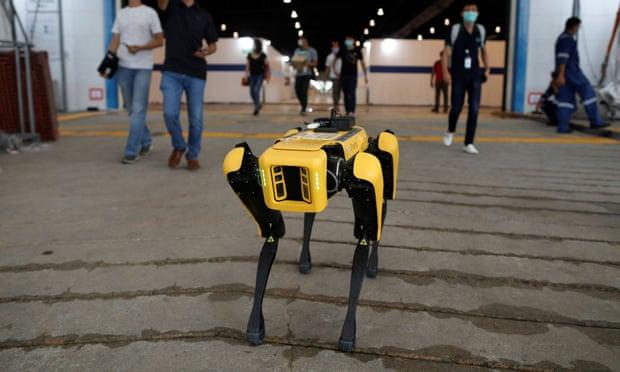 The five: robots helping to tackle coronavirus -   PHOTOS