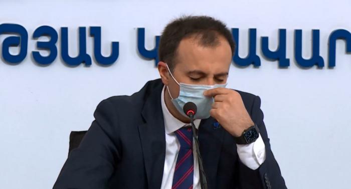 """""""Hazırda 650 nəfər ağır vəziyyətdədir"""" -  Erməni nazir"""