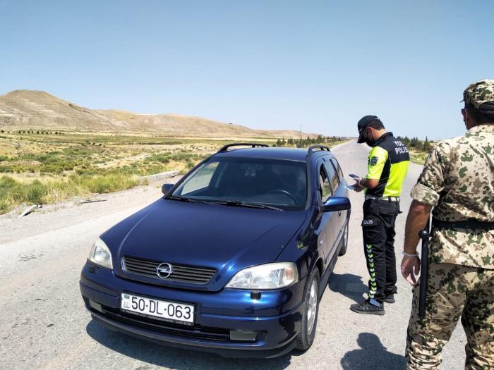 Xaçmaz və Siyəzən polisi gücləndirilmiş rejimdə çalışır