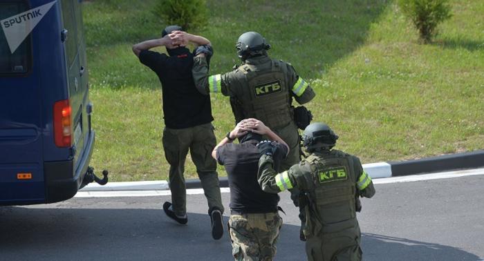 Belarusda xarici hərbi şirkətin 32 yaraqlısı saxlanılıb