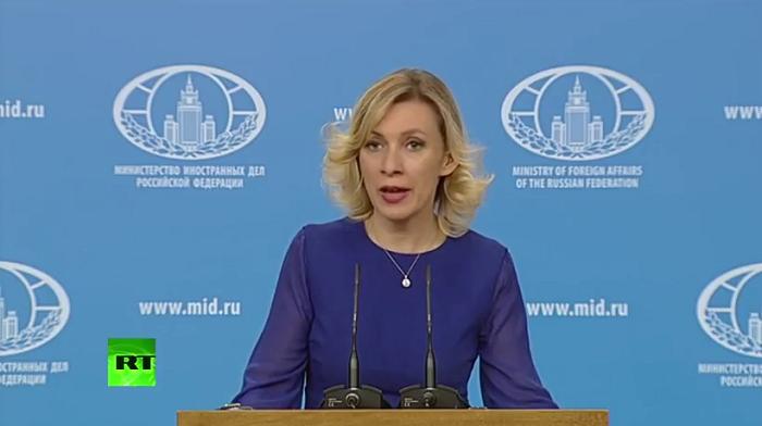 """زاخاروفا:  """"روسيا تدعم مبادرة اذربيجان"""""""