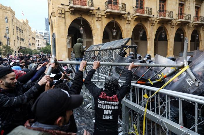 Beyrutda yenidən toqquşmalar başladı