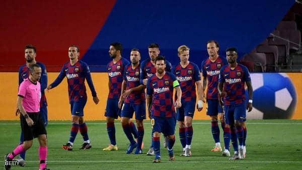 برشلونة يعلن ظهور كورونا بصفوف الفريق