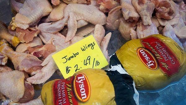 """أجنحة الدجاج الملوثة تهدد بـ""""انتكاسة"""""""