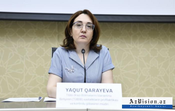 """""""Kəskin respirator xəstəliklərin artımı gözlənilir"""" -    Yaqut Qarayeva"""