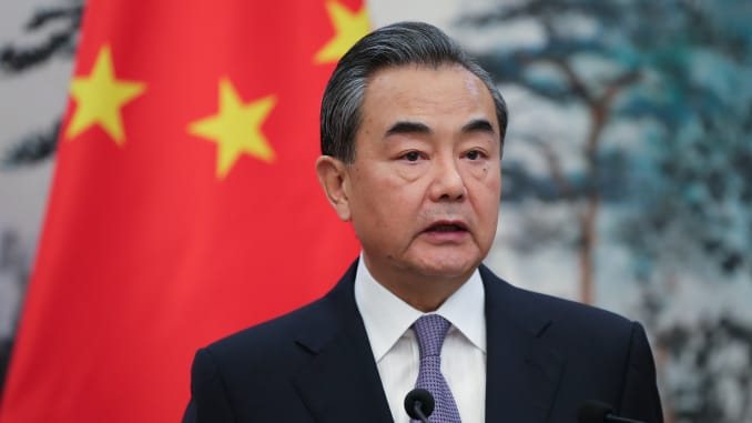 Chinese top official asks other countries not to interfere in Chinese internal affairs