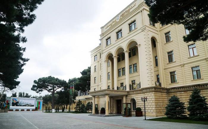 """وزارة الدفاع:  """"كل مزاعم الجانب الأرمني لا أساس لها"""""""