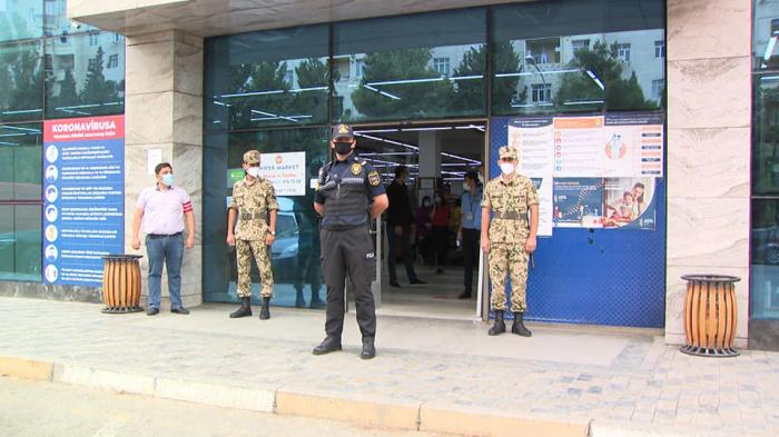 Polis Sumqayıtda növbəti reyd keçirdi -    FOTO