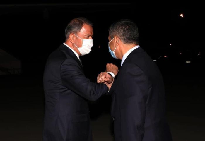 Les dirigeants militaires turcs sont arrivés à Bakou -  PHOTO