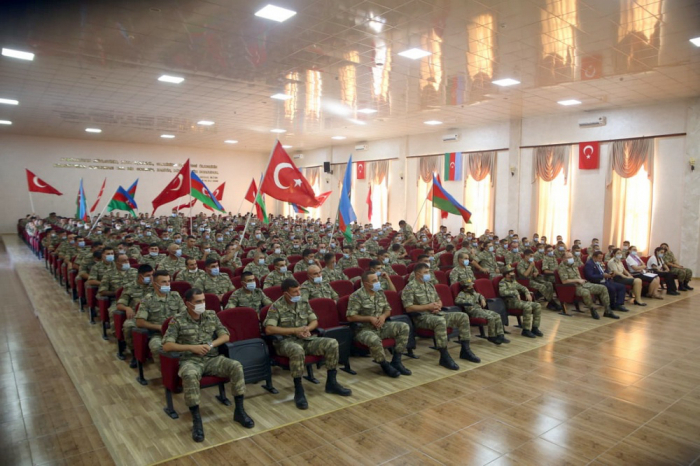 Azerbaijani servicemen attend events dedicated to activities on ideological work -  VIDEO