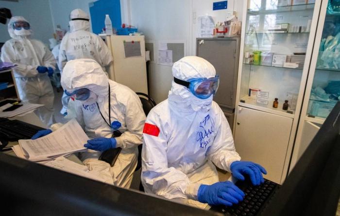 Rusiyada daha 5394 nəfər koronavirusa yoluxdu