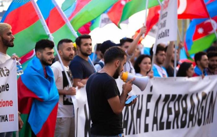 İsraildə Azərbaycana dəstək mitinqi keçirildi -  YENİLƏNİB