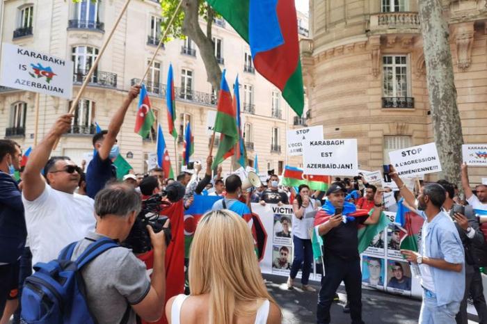 Fransada erməni təxribatı  - Diaspor rəhbəri nə baş verdiyini açıqladı