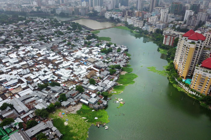 Climate crisis leftthird of Bangladesh under water