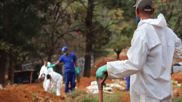 Brazil reports 45,392 new coronavirus cases, 1,088 deaths