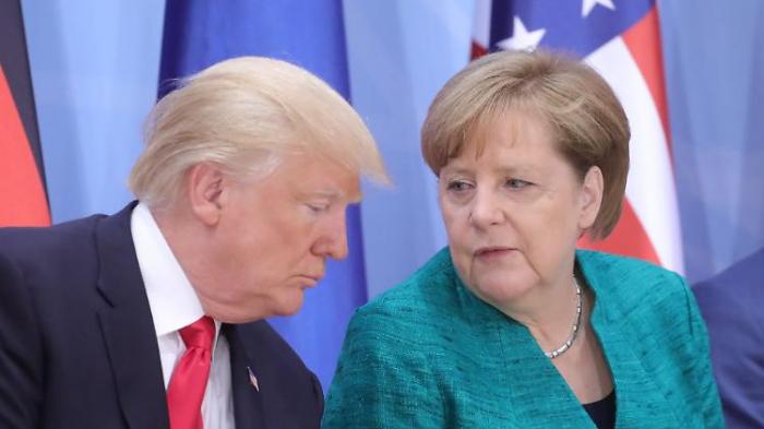 Trump-Nichte: Merkel intelligenter als Trump