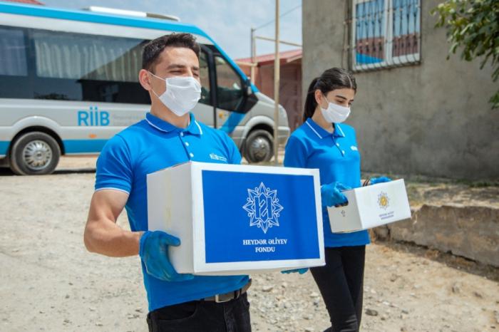 Aïd al-Adha:  la Fondation Heydar Aliyev distribuedes produits alimentaires aux familles à faible revenu