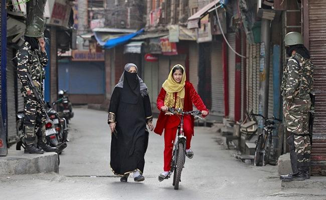 Kashmirmarksone year since the lockdown imposed