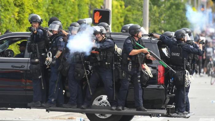 Amnesty: US-Polizei bricht Menschenrecht