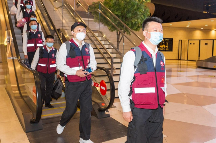 Chinese doctors and supplies arrive in Azerbaijan - PHOTOS