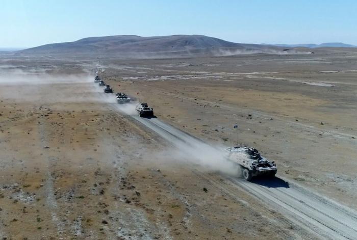 Azerbaiyán y Turquía realizan nueva etapa de ejercicios tácticos conjuntos
