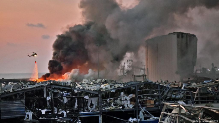 Deadly explosion rocks Lebanon