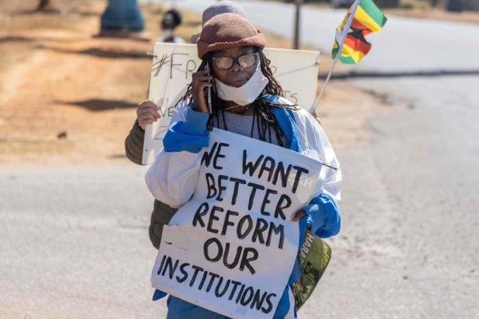 Celebrities support Zimbabwean Lives Matter movement