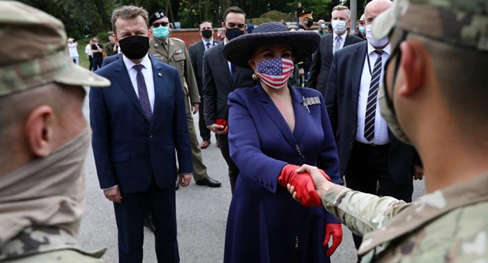 In Polen einquartiert Kommando des 5. Korps der US-Armee