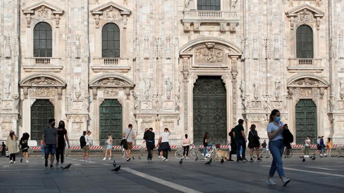 Italia estima que más de 1,4 millones de personas en su territorio podrían haberse infectado con el nuevo coronavirus