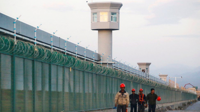 Uighur man's videos gives a rare glimpse inside Chinese internment camps -  VIDEOS