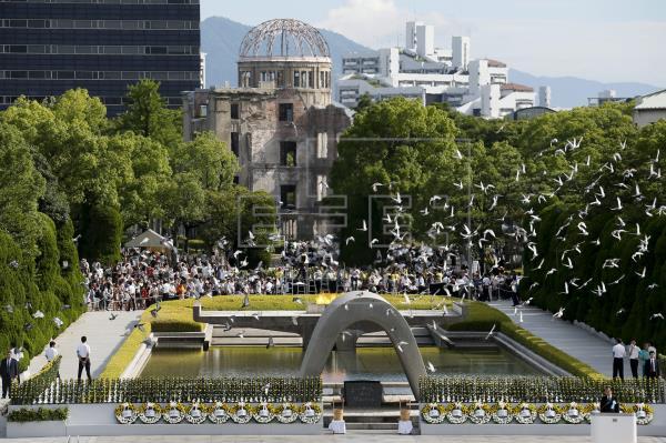 Japón recuerda las bombas de Hiroshima y Nagasaki con asignaturas pendientes