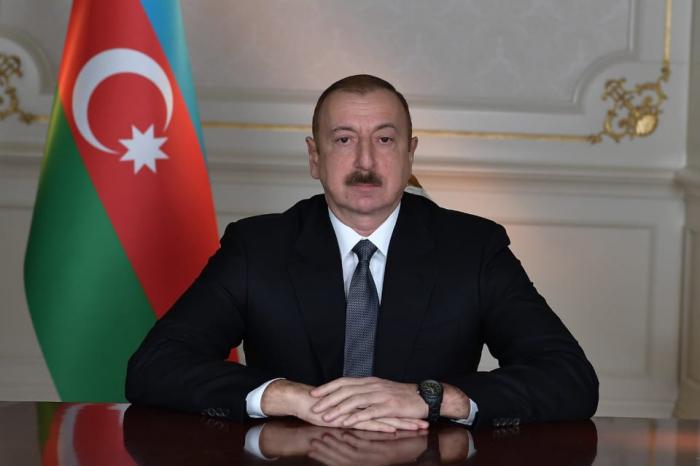 Präsident Ilham Aliyev spricht dem libanesischen Amtskollegen sein Beileid aus
