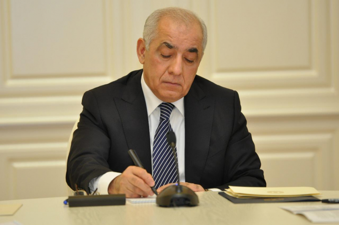 Azerbaijani PM signs Order to provide financial assistance to Lebanon