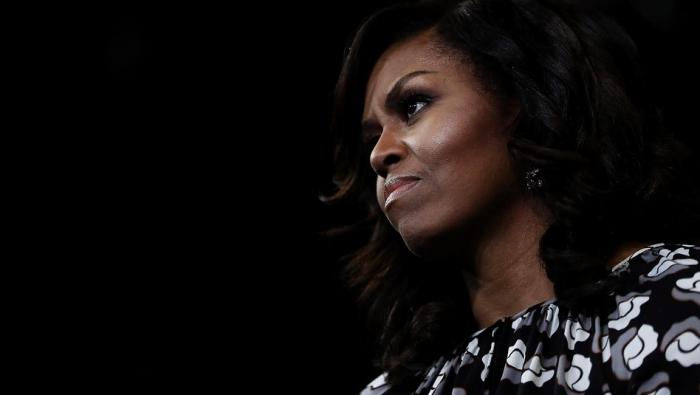 """""""leichter Depression"""" bei Michelle Obama"""