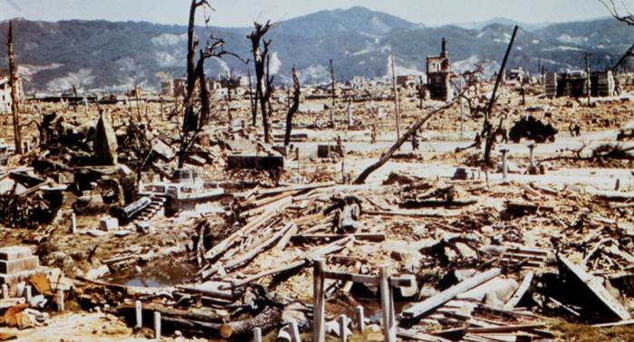 75. Jahrestag von Hiroshima-Bombardement