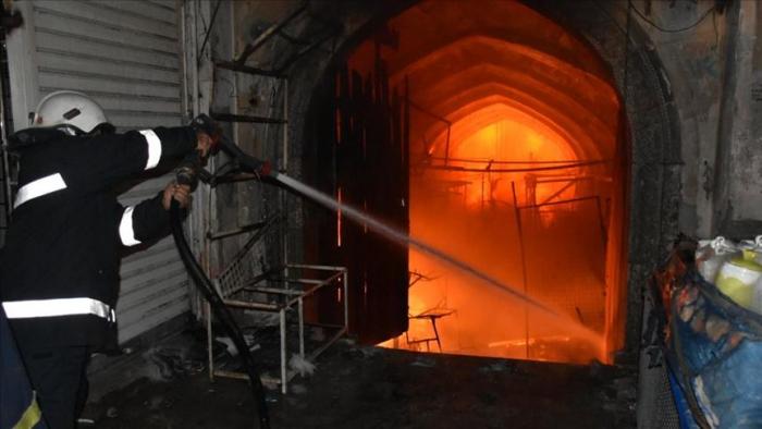 Ocurre un incendio en bazar en el noreste de Emiratos Árabes Unidos