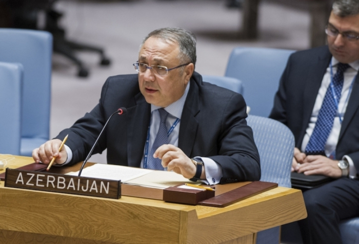 Embajador de Azerbaiyán ante ONU manda carta al Secretario General