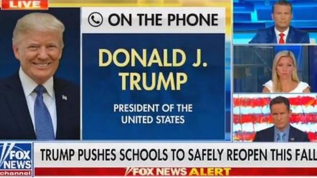 Twitter y Facebook aplican limitaciones a Trump por afirmar que los niños son «casi inmunes» al Covid-19