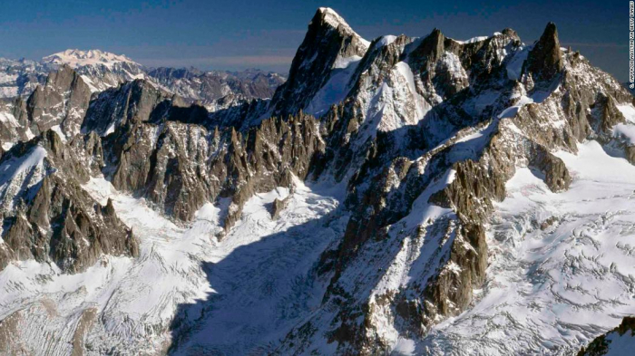 Risk of falling Mont Blanc ice triggers evacuations in northeastern Italy
