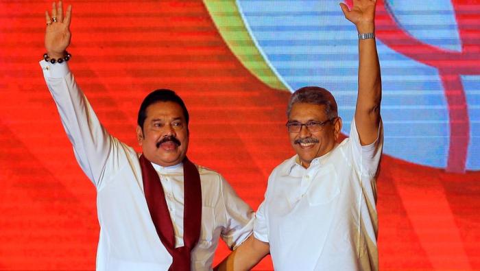 Rajapaksa-Brüder bleiben in Sri Lanka an der Macht