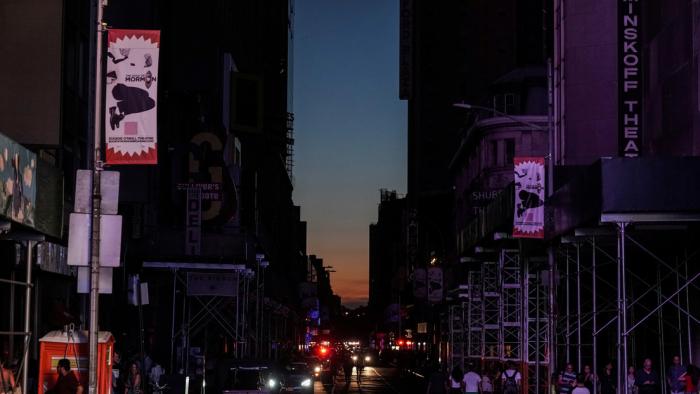 Apagón masivo en Manhattan