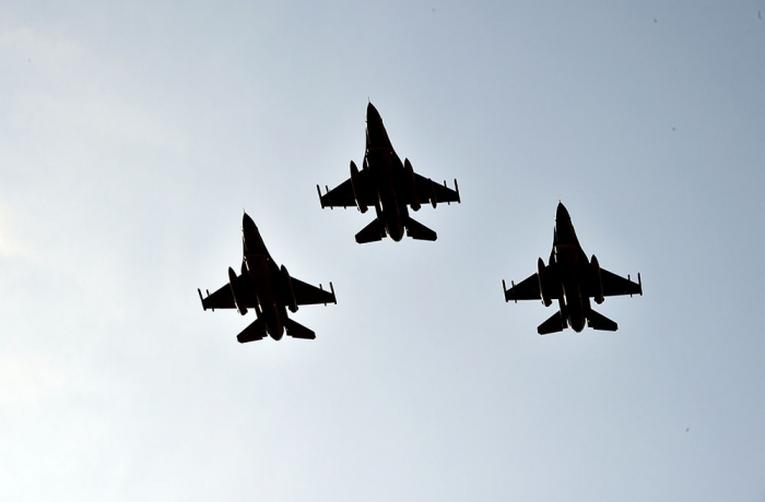 """First stage of """"TurAz Qartalı - 2020"""" Joint Flight-Tactical Exercises continues -VIDEO"""